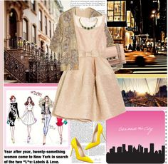 """""""Sex and the city"""" by dayanna ❤ liked on Polyvore"""