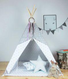 tipi zelt zelt indianerzelt zeltplatz von hophandmadeofpassion mit coolem traumf nger home. Black Bedroom Furniture Sets. Home Design Ideas