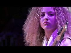 """Jeff Beck, Lizzie Ball (violin), Tal Wilkenfeld (bass) & Jonathan Joseph (drums) - live at """"Crossroads Guitar Festival"""" in Madison Square Garden NYC, on Apri..."""