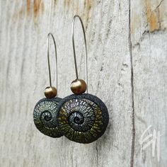 Spiral Earrings by E.H.design, via Flickr