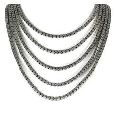 Gypsy Soule Women's 5 Strand Metal Necklace at $32.99  http://www.bboescape.com/products/buy/274/jewelry/Gypsy-Soule-Women-s-Strand-Metal-Necklace