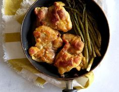 The asparagus soaks up the chicken's honey glaze, making your whole meal that much more delicious.