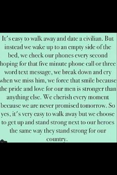 Quotes About Dating A Military Man