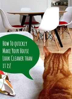 5 Tips: How To Make Your House Look Cleaner Than It Is