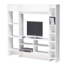 """Really like this one. Will go for something like this IKEA """"MAVAS"""" when I have finally moved, soon, I suppose. Having the TV hung on the wall like it is atm, is annoying me for the many cables you can hardly hide..."""