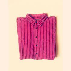 Levi's Striped Denim Shirt. #levis #vintagelevis #berlin #sustainablefashion
