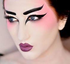 Halloween makeup? | make up | Pinterest | Halloween makeup, Makeup ...