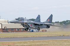 Mikoyan MiG-29A 'Fulcrum A' 40 1 PLM Polish AF 18-07-15