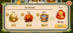 Golden Frontier Bread Recipe