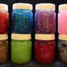 Body and Permanent Glow in the dark Paints, UV paints and Glow Accessories. - UV Glitter Gel
