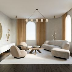 News and Trends from Best Interior Designers Arround the World Apartment Interior, Living Room Interior, Home Living Room, Home Interior Design, Interior Architecture, Living Room Designs, Living Room Decor, Office Inspiration, Living Room Inspiration