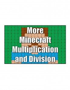 Get More Minecraft Multiplication and Division