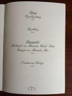 Kirchenblatt, Hochzeit, einzigartig, besonder, evangelisch, kirchliche Trauung, individuell, cremefarben, Druckerei, MediaPrint, Seite 3