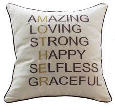 Sanmetex Best Thanksgiving / Christmas Gifts for Mom Throw Pillow Covers Natural Cotton Linen Cushion Cover Pillow Cases 18' X 18' Inch (Best Presents for Mother's Day Color Brown) * You can get more details here : Christmas decor