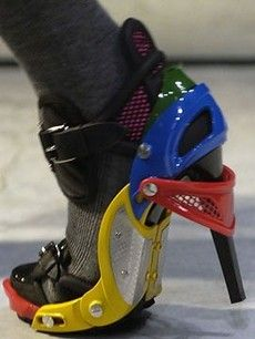 The mac daddy of all crazy shoes. A cross between a hockey mask and a technicolor Dreamcoat is the Balenciaga shoe