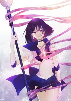 Once again, I am pinning Sailor Saturn. I'm not crazy about the Sailor Moon Anime or Manga but, I have a weakness for Sailor Saturn XD Sailor Moons, Sailor Moon Crystal, Sailor Moon Fan Art, Sailor Pluto, Kuroko, Sailor Saturno, Chibi, Hokusai, Moon Princess