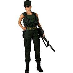 Linda Hamilton as Sarah Connor Figure: Terminator 2