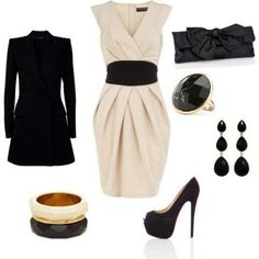 Krem-elbiseli-siyah-kuşaklı-yazlık-bayan-kombin-modeli.jpg (480×480)