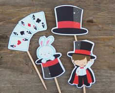 Magic Show Party  Set of 12 Assorted Magic by TheBirthdayHouse, $6.00