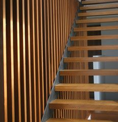 Timber Stair Stringers  #stairs Pinned by www.modlar.com