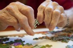 A puzzle can actually help a senior with cognitive functions