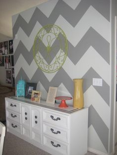Unexpected Ahas: A seriously EASY chevron wall