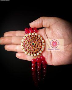 Ruby Jewelry, Gems Jewelry, Bridal Jewelry, Silver Jewelry, Gold Jewellery Design, Bead Jewellery, Beaded Jewelry, Pearl Choker, Choker Necklaces