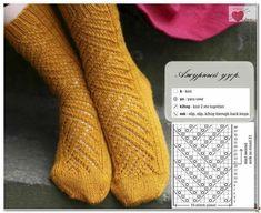 New knitting patterns socks knee highs ideas Knitting Paterns, Knitting Charts, Lace Knitting, Knitting Socks, Knitting Stitches, Lots Of Socks, Loom Scarf, Crochet Dishcloths, Patterned Socks