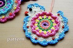 feliz chica crochet - patrón