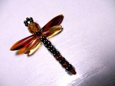 Beading Tutorials - Dragonfly using beads
