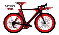 Y tú eres más de bicicleta de carretera o de contrarreloj? #ciclismo #bici #bicicletas #different #difference #cabra #cycling #bike #bikes #instabikes #instabike #triatlon #triathlon #shimano #orbea #specialized #canyon #trek #fuji #bh #felt #cervelo #merida #lapierre #pinarello #giant #cannondale by triatlonisbilya