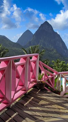 The Pitons, Soufriere, St. Caribbean Vacations, Dream Vacations, Vacation Spots, Oh The Places You'll Go, Places To Travel, Places To Visit, Barbados, Iles Grenadines, Beautiful Islands