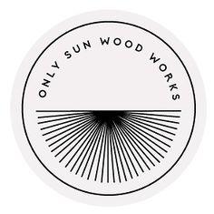 Only Sun Wood Works branding