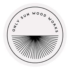 Only Sun Wood Works branding