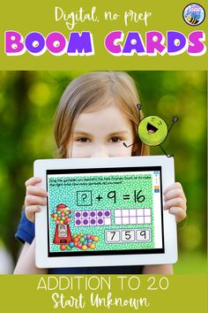 Addition to 20 Start Unknown Boom Cards Primary School Curriculum, Interactive Whiteboard, Vocabulary Games, Bilingual Education, Technology Integration, Australian Curriculum, Group Work, Bee Happy, Addition And Subtraction