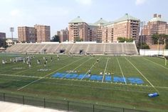 Homewood Field, The Johns Hopkins University, home of the Fighting Blue Jays Lacrosse Team