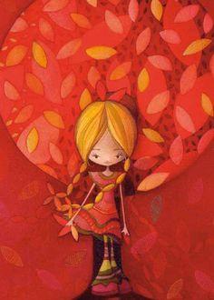 Photo Fille d'automne