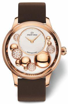 Jaquet Droz L'Heure Céleste Gold And Diamonds Ladies Watch