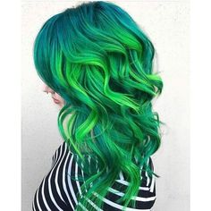 Crazy Cool Hair Colors ❤ liked on Polyvore featuring beauty products, haircare, hair color and hair