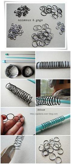 DIY anneaux