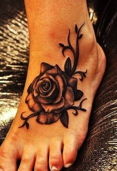 Best Foot Tattoo Designs and Ideas (48)
