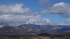 Fragineto (1750 metros) y Tozal de Guara (2077 metros). Pueblos de Santa Eulalia la Mayor y Sasa del Abadiado