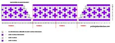 Pitkät kirjoneulesukat kantapään kiilakavennukset Periodic Table, Tapestry, Knitting, Crochet, Hanging Tapestry, Periodic Table Chart, Tapestries, Tricot, Periotic Table