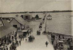 Halifax River bridge, SEABREEZE and to the Ocean, Near Daytona Beach, Florida