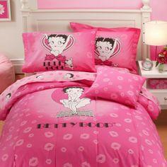 Betty Boop Bedding Set......... I Love Betty