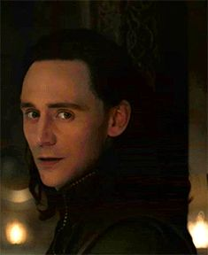 Imagine Loki getting distracted by you while having a conversation with Thor