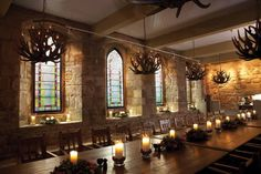 Much like the dining hall in which Macbeth had his hallucinations