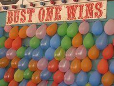 pop balloons: throw 3 darts if you get colored water that wins a prize State Fair Party, State Fair Theme, County Fair Theme, Fair Day, Fun Fair, Carnival Parties, Carnival Themes, Ballon Pop Game, Country Fair Wedding