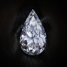 Acquired as a 225 carat rough diamond from an Angolan mine Laurence Graff knew instinctively that this would be an incredible diamond. After painstaking six month journey, Graff's Master cutters revealed a magnificent Internally Flawless diamond weighing an incredible 102.44 carats. It was then put back on the polishing wheel to create the ultimate accolade within the diamond world: a 100 carat pear shape, D Color, Internally Flawless diamond.