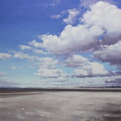 White shell sand on North Shore, Troon contemporary Scottish Paintings. View all John BELL art and Scottish artwork at Red Rag art gallery. Paintings I Love, Acrylic Paintings, Bell Art, Sky Art, Beach Scenes, North Shore, Contemporary Artists, Landscape Paintings, Art Gallery